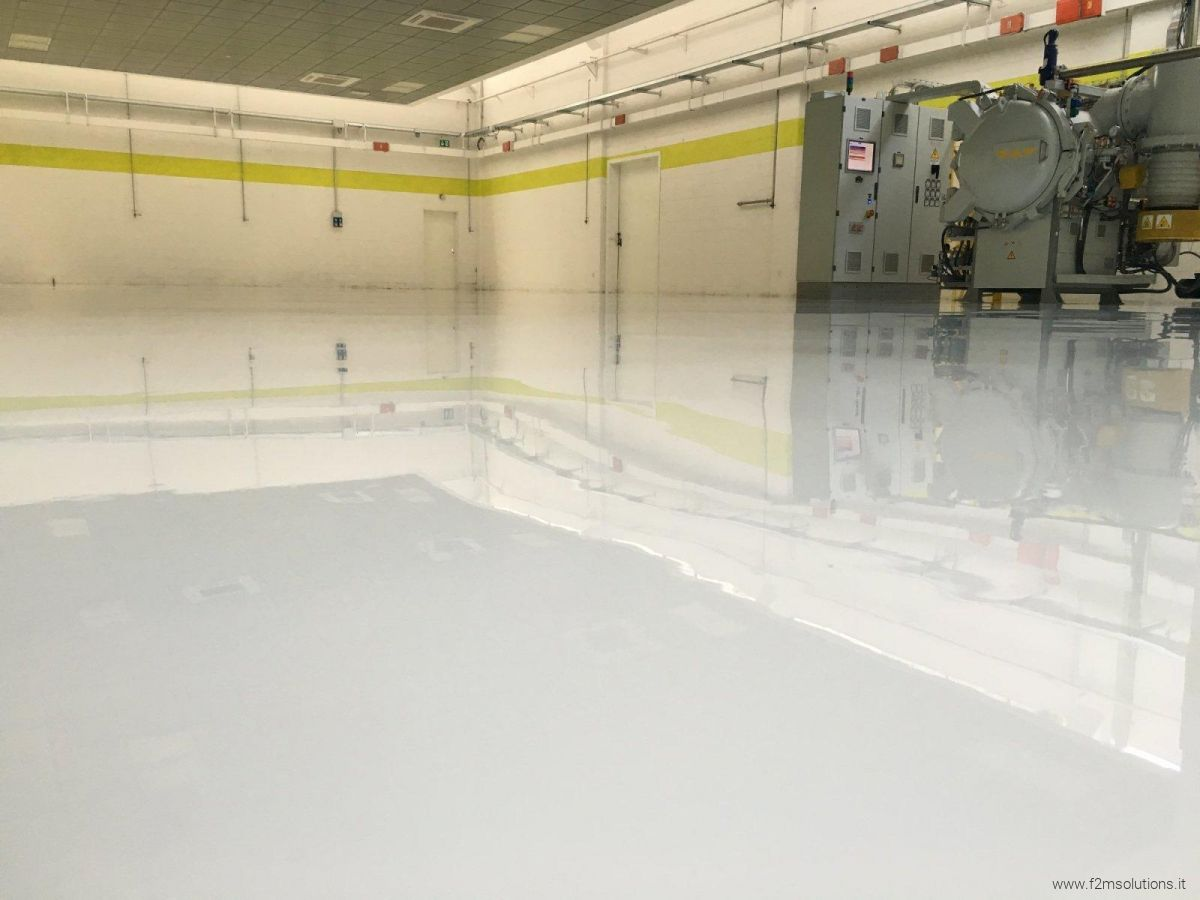 Pavimenti Industriali In Resina Epossidica : Rivestimenti in resina f m solutions srl